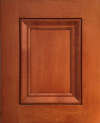 Raised Panel Door 3_Cherry Satin Finish