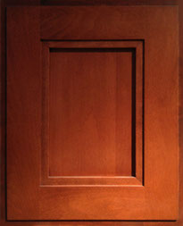 Shaker Door 1_Cherry Satin Finish
