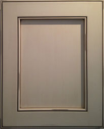 Shaker Door 2_Distressed Pain Satin Finish